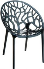 Thermo Plastic Crystal Chair - Black